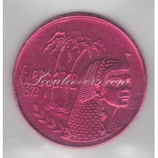 USA New Orleans Mardi Gras. Cleopatra, Dreams of Conquest rood 01